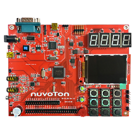 Learning Board of NUC140 Series